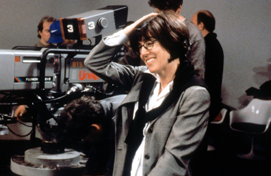 Lucky Numbers (2000) Directed by Nora Ephron Shown: director Nora Ephron