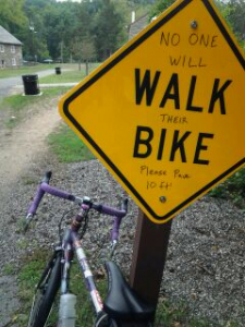 walk your bike